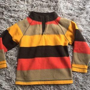 Baby gap fleece striped sweater